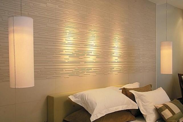 Paredes modernas com texturas e tijolos a vista - Paredes modernas para interiores ...