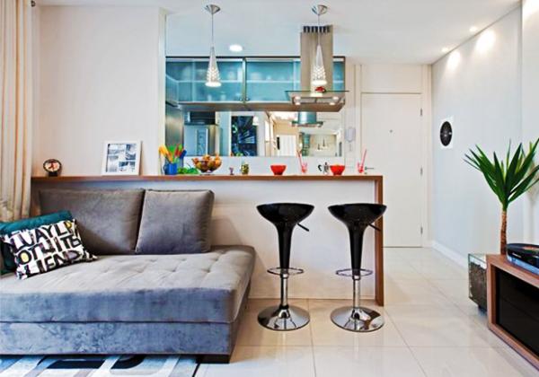 Como decorar ambientes pequenos - Como decorar un bar pequeno ...